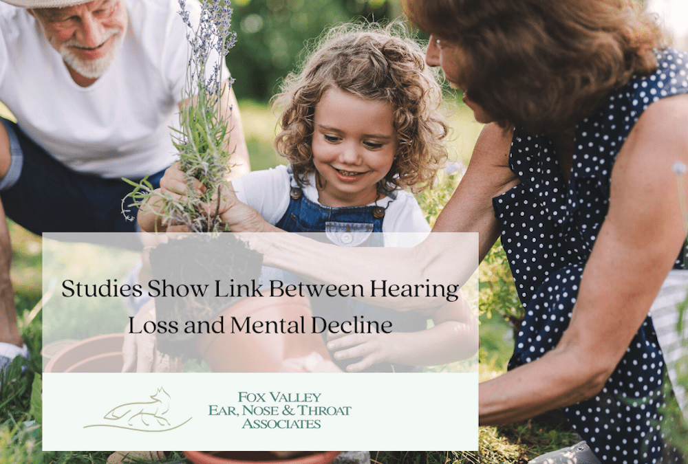 Studies Show Link Between Hearing Loss and Mental Decline